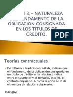 Unidad 3 - Títulos y Operaciones de Crédito UNAM