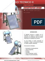 Proyecto Calentador Solar