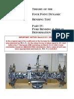 4pb Part IV Pure Bending Shear Deformation