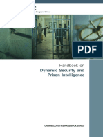 UNODC Handbook on Dynamic Security and Prison Intelligence