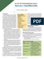 TECNOLOGÍAS DE PRETRATAMIENTO PARA OSMOSIS INVERSA Y NANOFILTRACIÓN.pdf