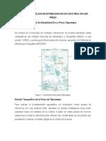 Ejemplo - estabilidad de taludes en presa de agua