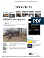 El Divertido Primer Baño de Rinoceronte Bebé