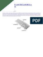 Funciones del Teclado (compndio)