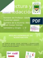Diapositivas de Lectura