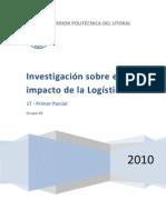 Investigación sobre el impacto de la Logística