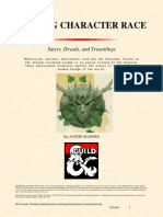 Feyling Race - Dryad Treantling and Satyr (10598835)