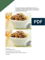 Quinoa-Rice Granola