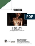 Trabajo Abuso Sexual Infantil-Pedofilia y Pederastia
