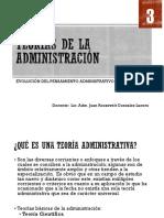 03 Teorías de La Administración