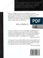 John Berger - De a Para X (Selección)