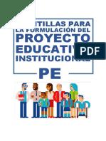 Plantillas PEI 2017