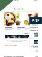 Receitas Edu Guedes - Carnes