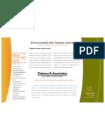 Brochure - Cabrera&Asociados