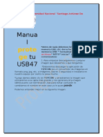 Manual Protege Tu USB47