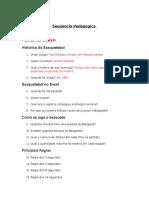 Plano de Curso Do Conteudo de Basquetebol - DIOGO FEIJO