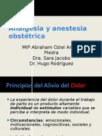 Analgesia y Anestesia Miguel Angel