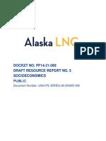 Alaska LNG RR5-Socioeconomics