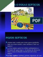 Pozos o Fosas Septicos