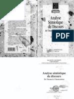 Analyse Semiotique Du Discours