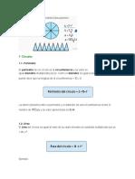 Perimetro, Diametro y Area
