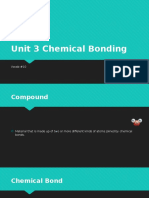unit 3 chemical bonding vocab 10
