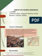 Virreinato de Nueva Granada y Perú