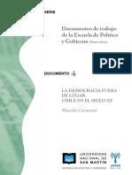 Marcelo Cavarozzi - Chile La Democracia Fuera de Lugar