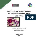 Protocolo Leishmania
