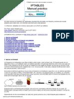 IPTABLES Manual Practico, Tutorial de Iptables Con Ejemplos