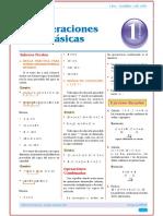 Operaciones Basicas de Algebra