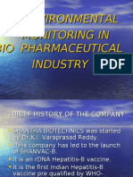 ENVIRONMENTAL       MONITORING IN BIO  PHARMACEUTICAL   INDUSTRY