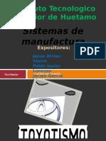 Toyotismo-sistemas de Manufactura