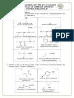Nomenclatura de Acidos Carboxilicos