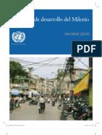 Objetivos de Desarrollo del Milenio 2010 de Naciones Unidas