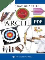 Archery Merit Badge Pamphlet 35856