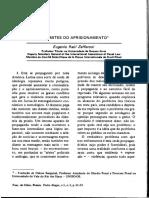 (1988) Eugenio Raúl Zaffaroni Os Limites Do Aprisionamento