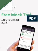 IBPS IT Officer Mock Test1