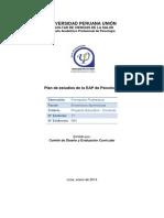 FV-084 Plan de Estudios