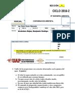Examen Parcial- CA