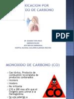 1.- Intoxicacion Por Monoxido de Carbono