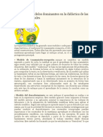 Enfoques o Modelos Dominantes en La Didáctica de Las Ciencias Naturales