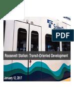Sound Transit - Roosevelt TOD Open House - 1-12-17