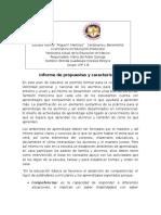 Informe de Propuestas y Características
