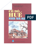 Cố Đô Huế Xưa Và Nay - Phan Thuận Anh,Đỗ Bang
