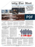 The Daily Tar Heel for Jan. 13, 2016