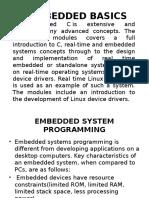 Embedded c Basics