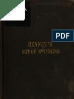 1845,  ARLINGTON BENNE, The Art of Swimming