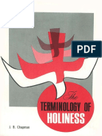 J B Champman_ the Terminoly Holiness