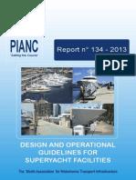 Pianc Guide Lines for Marina Design